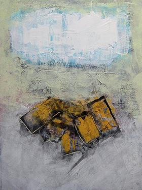 Ott / Fall / 1, 12 x 9 inch, acrylic on canvas board, 2014