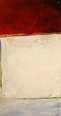 Van/Sum/001, 33 x 60 inch, acrylic on canvas, 2000