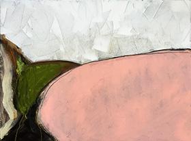 I Saw Sides, 23 x 32 inch, acrylic on canvas, 2016
